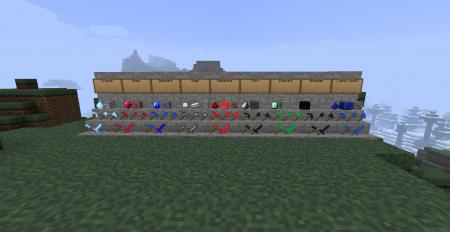 [1.3.1] The Mining mod - Больше инструментов